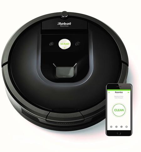 Oferta de Amazon en el robot de limpieza Roomba 981: cuesta 639 euros con envío gratis