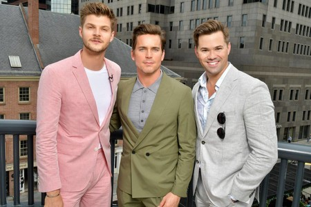 Matt Bomer Andrew Rannells Spring Summer 2018 New York Front Row