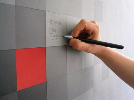 Pixelnotes, una pared pixelada sobre la que escribir