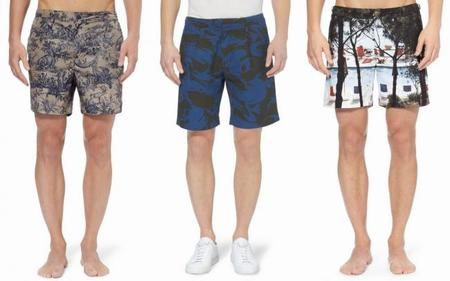 print shorts for summer