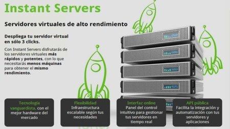 Telefónica lanza Instant Servers, un servicio cloud para alojamiento de aplicaciones en Internet