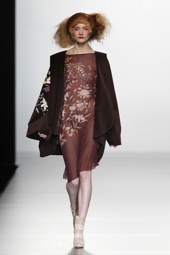 Foto de Elisa Palomino en la Cibeles Madrid Fashion Week Otoño-Invierno 2011/2012 (5/30)