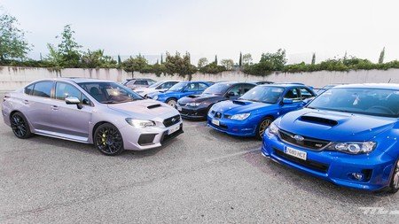 Subaru Wrx Sti 2018 Prueba 010