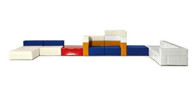 Foto de 100x100gracco de Busnelli, construye tu propio sofá (3/5)