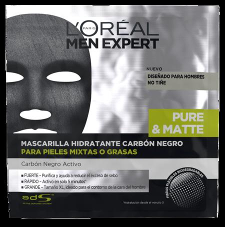 Mascarilla Tejido Pure Matte Negra