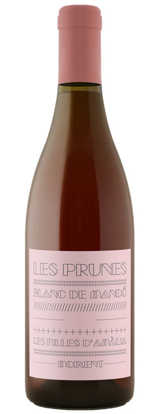 Les Prunes Rosat Celler del Roure, 2018. DO Valencia