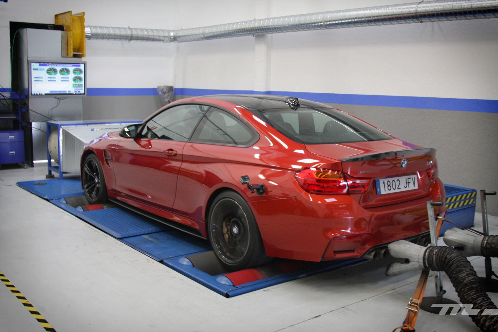 Foto de BMW M4 Performance (prueba en banco de potencia) (36/40)