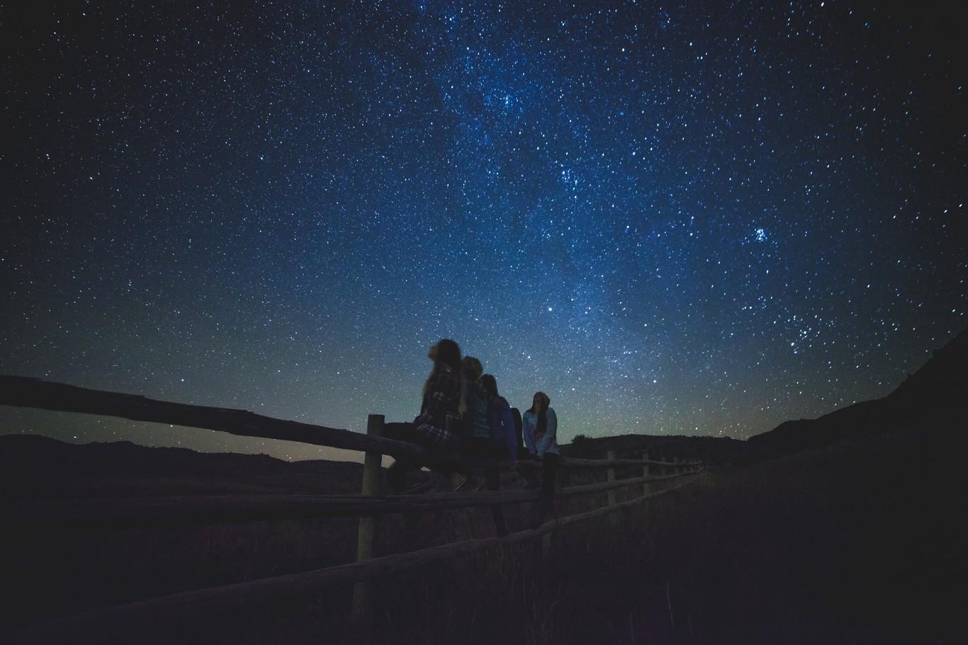 El cielo de una noche de verano - Cover