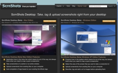 ScrnShots Desktop beta, realiza y comparte tus capturas desde el escritorio