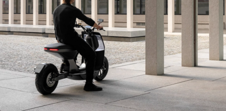 NAON Zero-One: un scooter eléctrico de diseño urbano y ecológico, con 280km de autonomía y por 4.920 euros