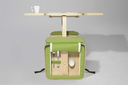 Prepárate para el buen tiempo con este innovador y completo set de picnic