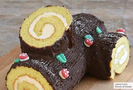 Tronco de Navidad o Bûche de Nöel: receta tradicional