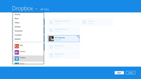Dropbox trae su cliente oficial  a Windows 8