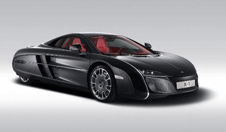 Presentación oficial del McLaren X-1 Concept