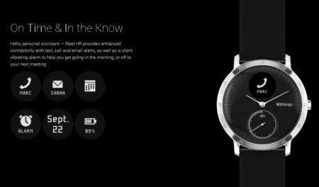 Withings Steel Hr Smartwatch 2