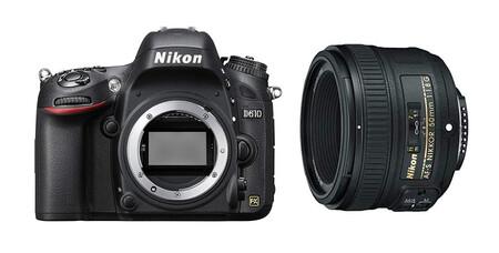 Nikon D610 Con 50mm
