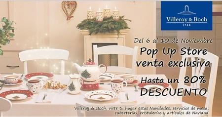 Venta especial de Villeroy & Boch, con descuentos de hasta el 80 %
