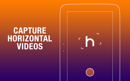 Horizon, una aplicación para siempre grabar video en horizontal