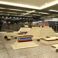 La maqueta de Tenochtitlan del metro de Ciudad de México es reconstruida y ahora se asemeja a como lucía la ciudad en 1521