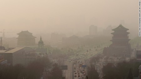 Contaminacion Aire China