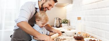 Quédate en casa y cocina en familia: 47 recetas fáciles de tartas y galletas para hacer con los niños
