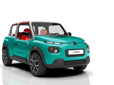 Vuelve el Citroën Méhari pero electrificado, se llama e-Mehari