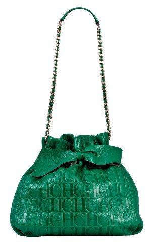 Bolso verde de Carolina Herrera de la colección primavera-verano 2011