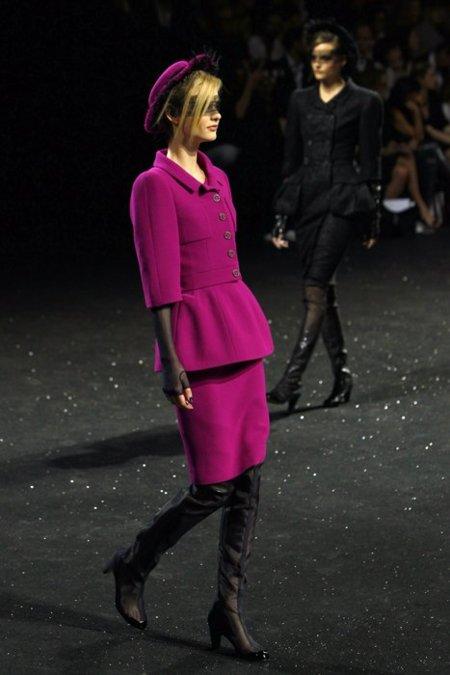Chanel fucsia Alta Costura