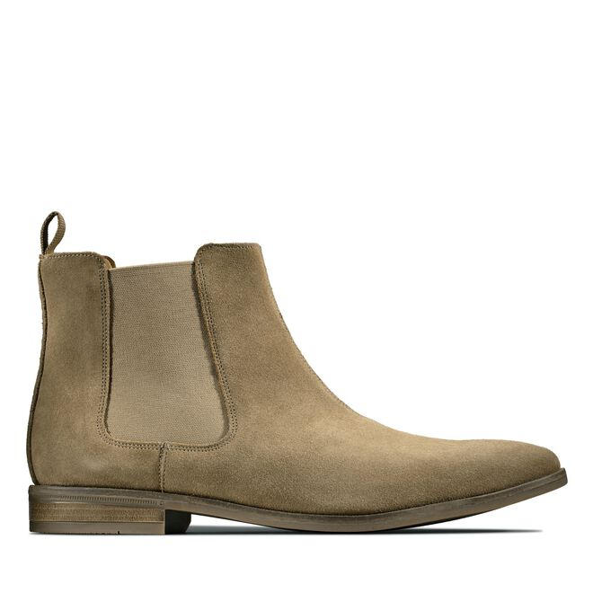 Bota Chelsea Stanford Top color arena oscur