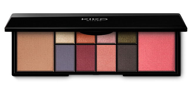 Kiko Smart Eyes And Face Palette 3