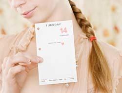 Obsesionarse con el calendario no es bueno para concebir