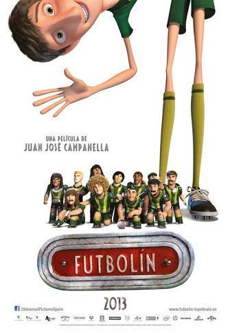 Cartel de 'Futbolín'