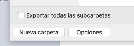 Mail Mac Exportar Buzon Opciones