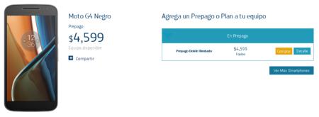 Moto G4 Movistar Precio