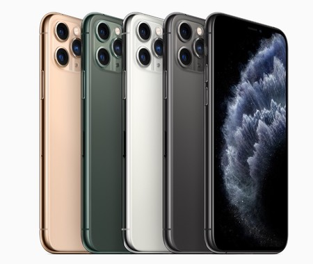 Colores del iPhone 11 Pro