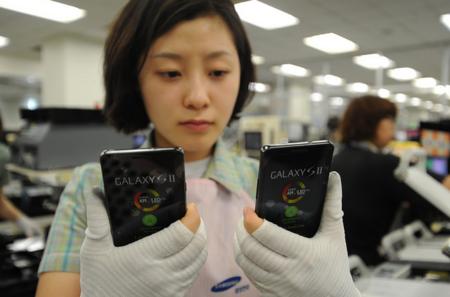 Samsung Galaxy S II pasa los 3 millones de reservas