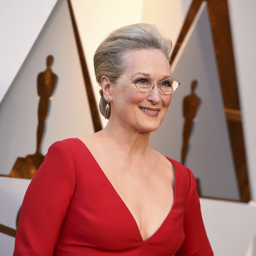 Oscar 2018: Meryl Streep demuestra que el rojo es el color que más le favorece