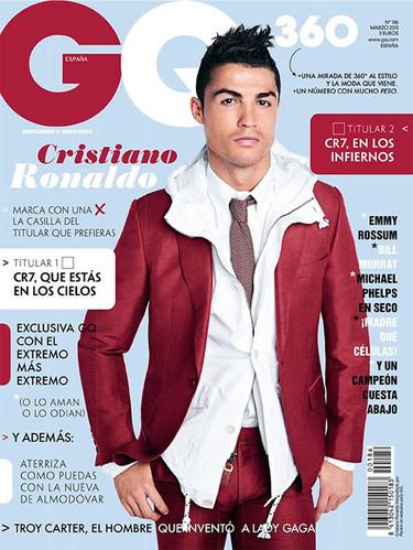 Cristiano Ronaldo, ¿pero qué te han puesto en GQ?