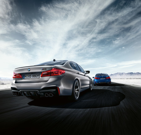 Bmw M5 Competition 2018 trasera