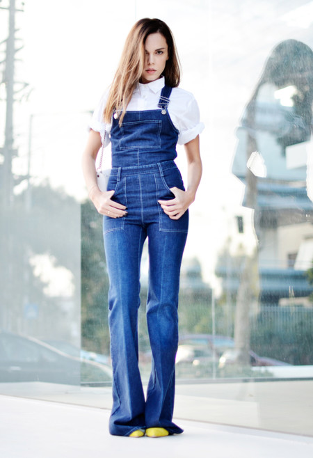 Flare Jeans Pantalones Tendencia Primavera Verano 2015 4