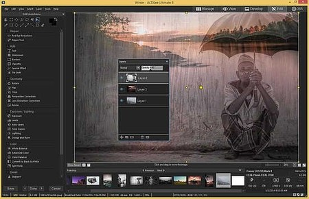 Acdsee Ultimate8 Layers 550x354