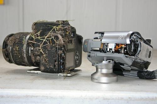 Foto de Una Canon EOS 350D que sobrevive a una caída de 900 metros (2/5)