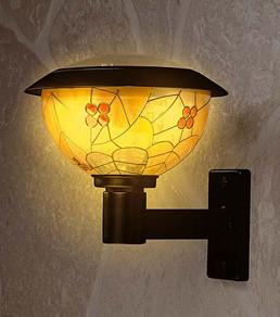 Lampara solar Tiffany