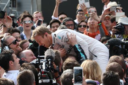 Nico Rosberg, aún más líder tras la victoria en el GP de China de F1