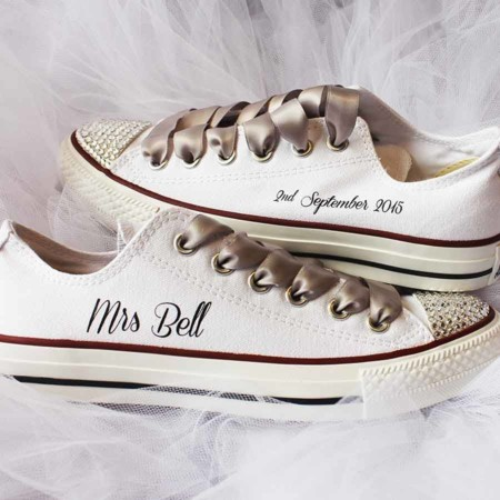 Original Custom Wedding Converse