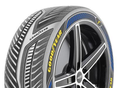 Los neumáticos Goodyear Intelligrip servirán de ayuda a los coches autónomos
