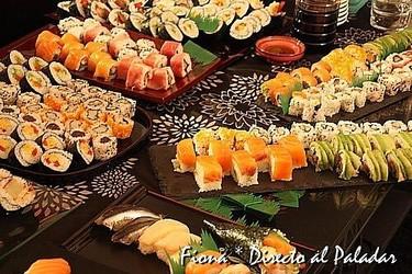 IV encuentro de Tapas&Blogs. Taller de sushi Gastromaniac
