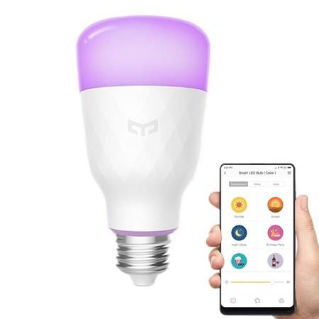 Bombilla LED inteligente Xiaomi Yeelight por sólo 13,97 euros con este cupón de descuento