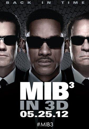 El póster de Men In Black 3