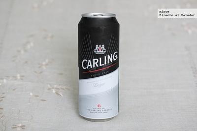 Carling Pale Lager. Cata de cerveza